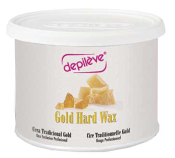 Depileve European Gold Hard Wax - 14oz
