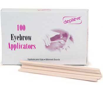 Depileve Eyebrow Applicators - 100ct