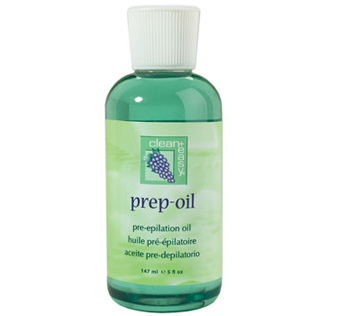 Clean+Easy Pre-Epilation Oil for Hard Wax - 5 oz